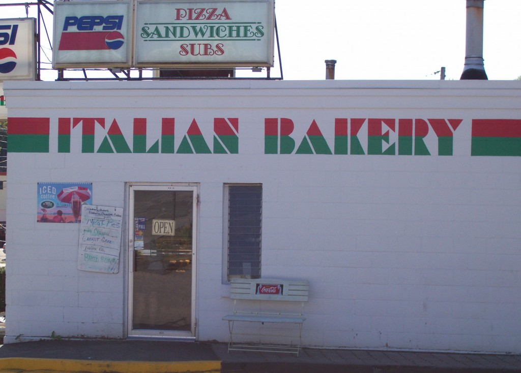 The Italian Bakery in Lewiston, Maine